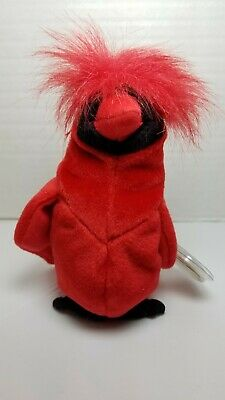 $250 • Buy MAC The Cardinal Ty Beanie Baby SUPER RARE MINT LIMITED EDITION Retired W/ERRORS