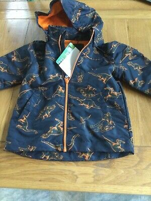 £21.99 • Buy Name It Boys Dinosaur Coat New With Tags 2-3 Years