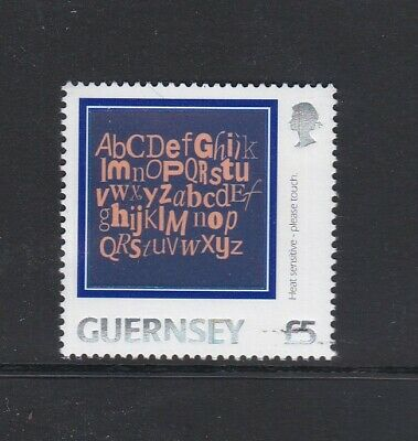 £3.50 • Buy Guernsey 2003 £5 Letters Of The Alphabet  Mnh Stamp