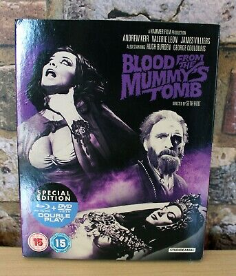 £5 • Buy Blood From The Mummy's Tomb (Blu-Ray + DVD)