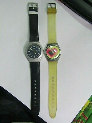 $ CDN12.15 • Buy Watch Lot Of 2 Swatch Watches For Parts/repair #95