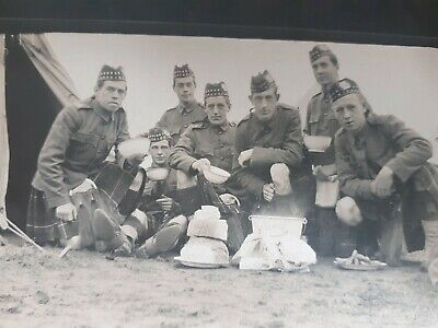 £15.99 • Buy Pre WW1 Liverpool Scottish Soldiers. 10th Kings Liverpool Regiment. 1910