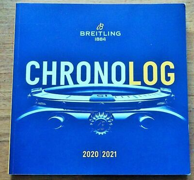 £29.99 • Buy Very Latest 2020 2021 Breitling Chronolog Watch Brochure Catalogue 197 Pages