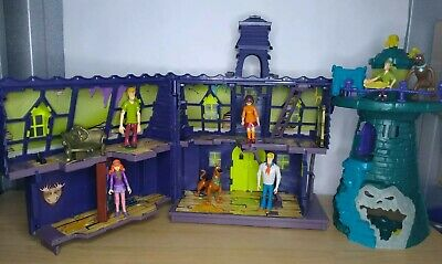 £50.99 • Buy Scooby Doo Haunted Mansion Playset And Lighthouse Shaggy Wilma Fred Daphne.