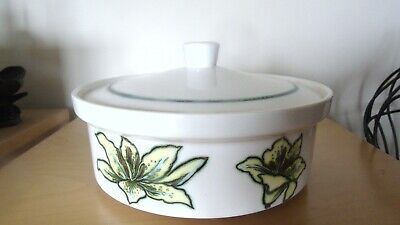 £2.99 • Buy Royal Worcester  Palissy Orchid Lidded Serving Dish