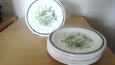 £2.99 • Buy Set Of 6 Royal Worcester  Palissy Orchid Side Plates