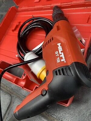 £85 • Buy Garage Clearance Quality 110v Box Hilti St18 Corded Site Drill Boxed Derby