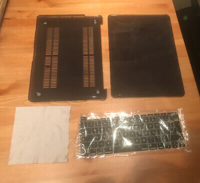 £15 • Buy MacBook Pro 13 Inch Case  Plastic Hard Shell Cover & Keyboard Cover & Wipe Cloth