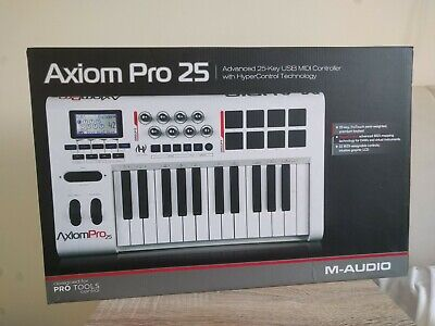 $165.66 • Buy M-Audio Axiom Pro 25 Hyper Control Keyboard - Boxed, Complete With Paperwork