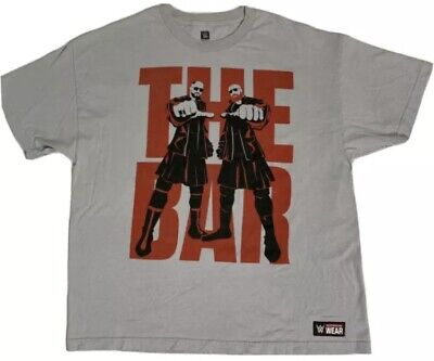 £12.07 • Buy Sheamus And Cesaro WWE Authentic The Bar Gray T Shirt XL Wrestling FREE SHIP!
