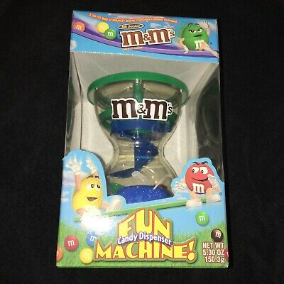 $3.99 • Buy 2002 M&M Fun Machine Candy Dispenser, NIB, Spins And Seesaw Action