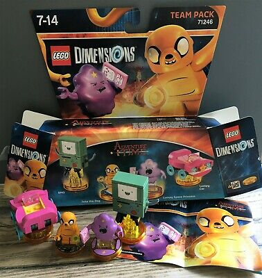 AU28.34 • Buy 71246 Lego Dimensions Adventure Time Team Pack -Includes Jake & BMO Complete