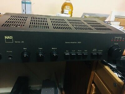 £50 • Buy Nad 3020 Series 20 Integrated Amplifier - With Original Box