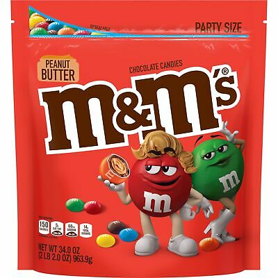 $17.75 • Buy M&M'S Peanut Butter Chocolate Candy, 34 Oz