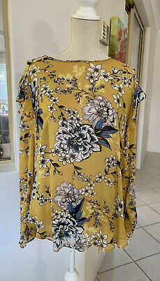 AU16 • Buy Witchery Long Sleeve Frilled Top Size 12