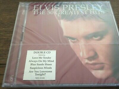 £6.99 • Buy Elvis Presley  -  The 50 Greatest Hits  -   New & Sealed  -  2cds