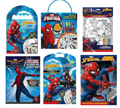 £3.99 • Buy Marvel Spider-Man Children's Kids Activity Colouring Book / Bumper Play Pack