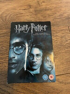 $ CDN42.88 • Buy Harry Potter The Complete 8-film Collection Dvd 8 Disc Set VGC