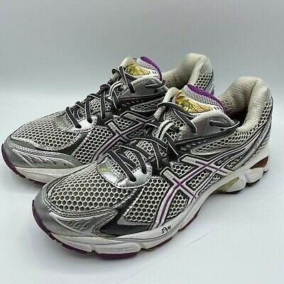 $ CDN36.42 • Buy Asics GT-2160 Womens Gray Purple Sneakers Sz. 8.5 Duomax Lace Up Running Shoes