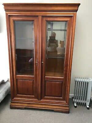 £85 • Buy French  Cherrywood Display Cabinet