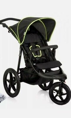 £175 • Buy NEW Hauck Runner, Jogger Style, 3-Wheeler, Pushchair With Extra Large Air Wheels