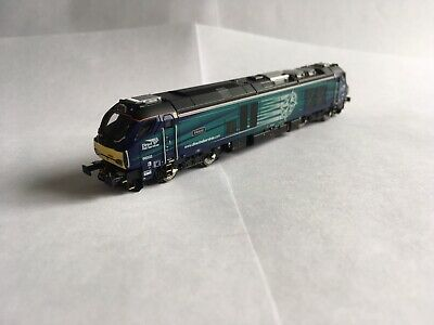 £99.99 • Buy Dapol N Gauge DRS Class 68, Intrepid 68002, DCC Fitted, Boxed, 2D-022-001
