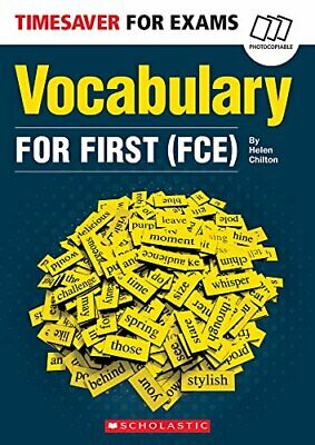 £22.89 • Buy Vocabulary For First (FCE) (Timesaver) By Chilton, Helen Book The Cheap Fast New