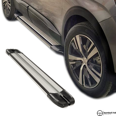 AU473.30 • Buy Running Board Side Step Nerf Bar For Ssangyong Musso Sport 2018 - Up