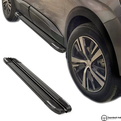 AU473.30 • Buy Running Board Side Step Nerf Bar For Ssangyong Musso Sport 2018 - Up  (BLACK)