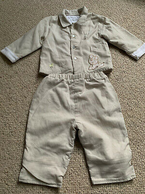 £4 • Buy Baby Boys 2 Piece Outfit From COCO Age 6 - 12 Months