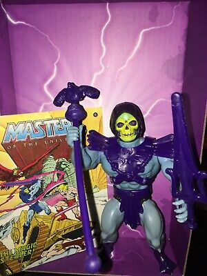 $90 • Buy Skeletor Vintage Masters Of The Universe 100% Complete W/ Mini Comic