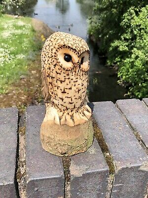 £25 • Buy Bespoke Chainsaw Owl Carvings In Wood OW1322