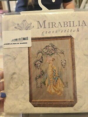 £35 • Buy Oop  Mirabilia    The Rose Of Sharon    Cross Stitch Chart  Md3  1st Edition