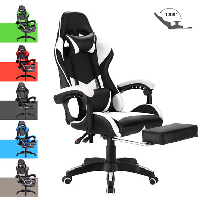 AU129.90 • Buy Advwin Gaming Chair PU Leather Seat Racing Office Chair Ergonomic Recliner Chair