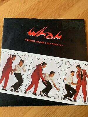 £0.99 • Buy WHAM! YOUNG GUNS (GO FOR IT) (80) 2 Track 7  Single Picture Sleeve INNERVISION R