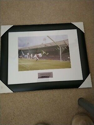 £20 • Buy Coventry City FC Fa Cup Final 1987 Framed Picture Keith Houchen Brand New