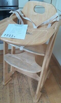 £60 • Buy Two (2) EAST COAST Multi-height High Chair 6m-adult
