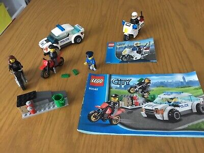 £3.80 • Buy LEGO City High Speed Police Chase (60042)