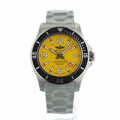 £2695 • Buy Breitling Superocean Automatic 44 A17367 Yellow Steel Box And Papers Unworn 2021