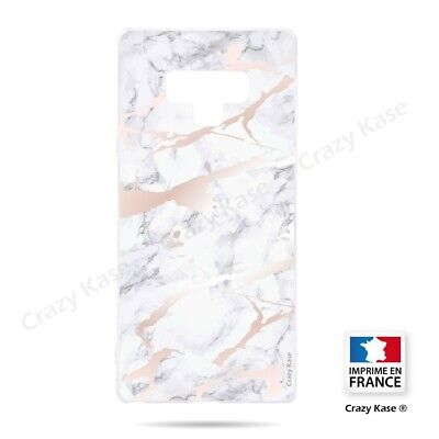 $ CDN18.41 • Buy Cover For Samsung Galaxy Note 9 Flexible Effect Marble Pink