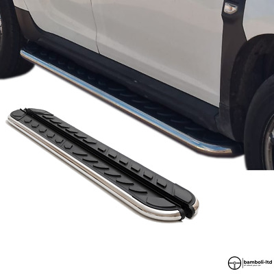 AU639.64 • Buy Running Board Side Step Nerf Bar For Ssangyong Musso Sport 2018 - Up