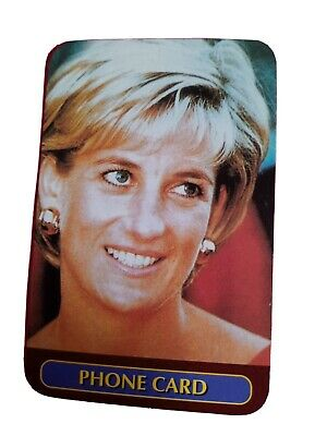 £0.99 • Buy Princess Diana Phonecard. Photo Of Her Head And Shoulders. A Few Marks From Use.