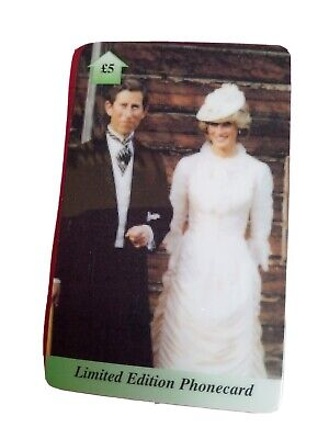 £1.10 • Buy Uk Phonecard. Prince Charles And Princess Diana At The Races. A Few Marks From U