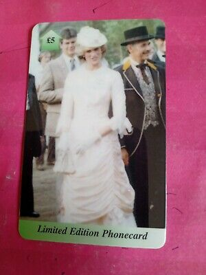 £1.10 • Buy Uk Phonecard. Princess Diana In A Vintage Dress At The Races. Plastic Card