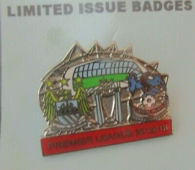 £6.99 • Buy Manchester City Crystal Palace Limited Edition  2015-2016 Badge