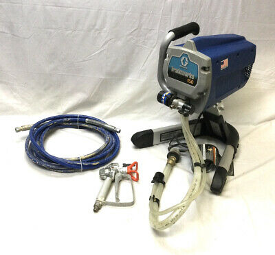 £106.35 • Buy Graco Tradeworks 150 Paint Sprayer With Hoses And Nozzle Spray Gun