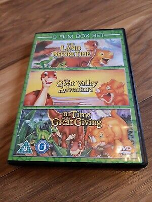 £2.80 • Buy The Land Before Time Dvd Box Set - Kids Film - 3 Films - Don Blooth