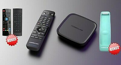 $ CDN179.99 • Buy Used (Open Box ) Formuler Gtv Android Tv 9.0 + Extra Wireless Keyboard + Charger
