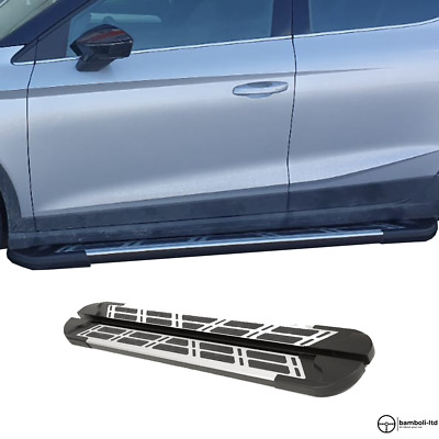 AU601.25 • Buy Running Board Side Step Nerf Bar For Ssangyong Musso Sport 2018 - Up