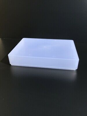 £15.49 • Buy  A4 Clear Plastic Boxes X 5 Made In UK Container Craft Box Storage Paper 1 Reem